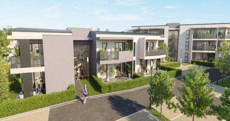 Achat / Vente immobilier neuf Marignane proche du canal du Rove (13700) - Réf. 5393
