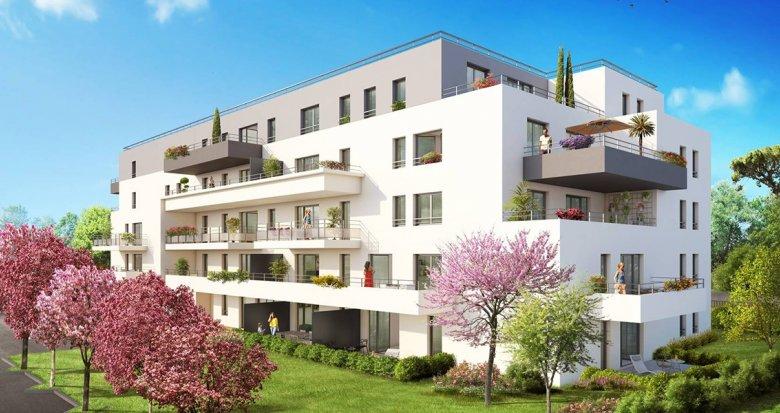 Achat / Vente immobilier neuf Marignane proche parc Ferrage (13700) - Réf. 778