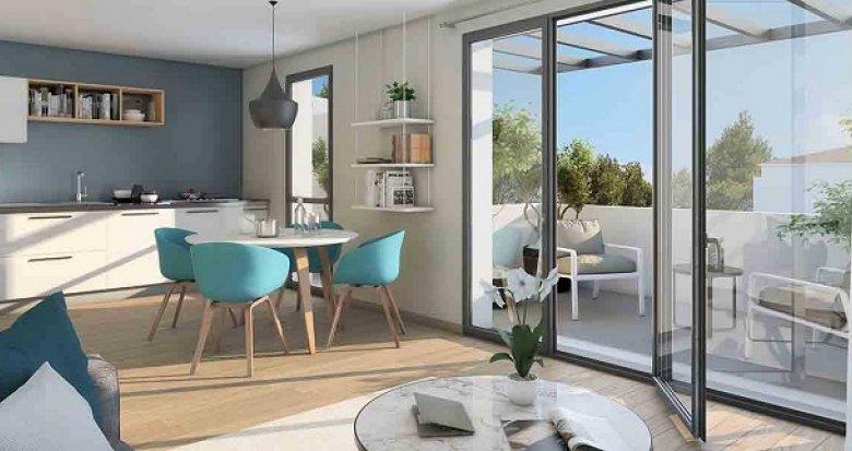 Achat / Vente immobilier neuf Marignane TVA réduite environnement pavillonnaire (13700) - Réf. 2421