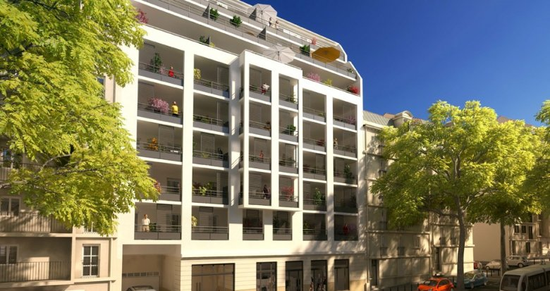 Achat / Vente immobilier neuf Marseille 04 proche tramway (13005) - Réf. 554