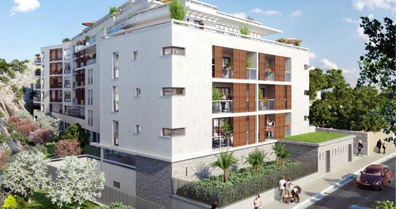 Achat / Vente immobilier neuf Marseille 08 proche parc Borély (13008) - Réf. 775