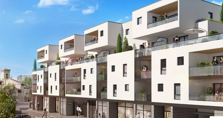 Achat / Vente immobilier neuf Marseille 08 proche place de l'église de Sainte-Anne (13008) - Réf. 625