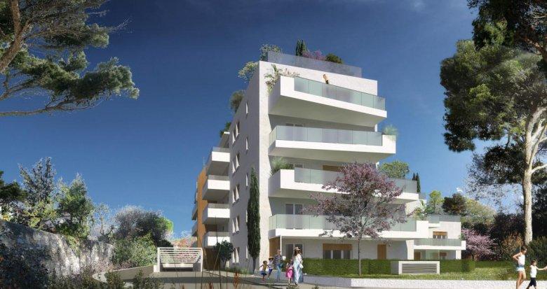 Achat / Vente immobilier neuf Marseille 09 au calme Mazargues Bonneveine (13009) - Réf. 2750