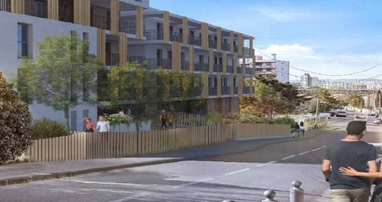 Achat / Vente immobilier neuf Marseille 10 collines Saint Tronc (13010) - Réf. 4850