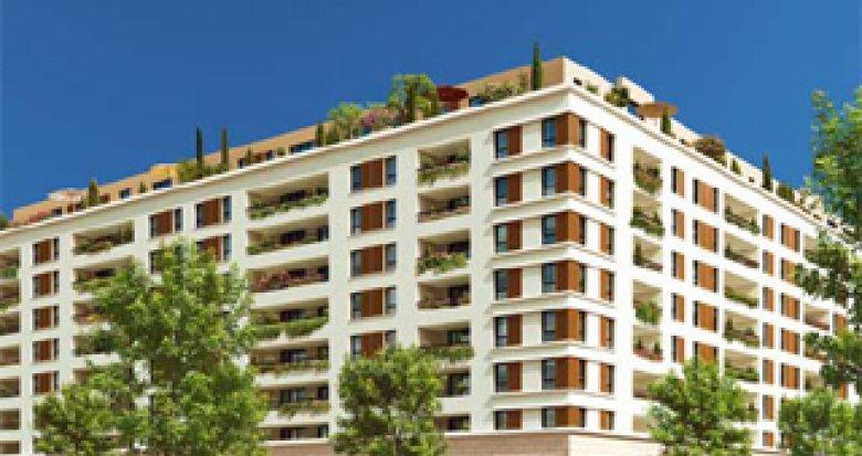 Achat / Vente immobilier neuf Marseille 10 Jardins de Bonnefoy (13010) - Réf. 940