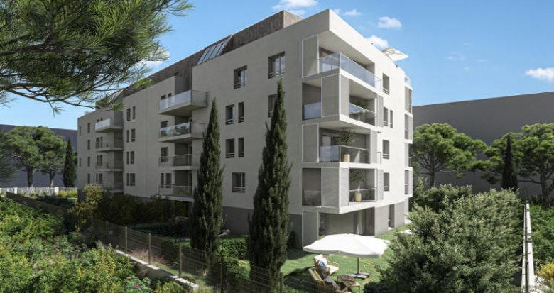 Achat / Vente immobilier neuf Marseille 10 Mauriac, résidence intimiste de 37 logements (13010) - Réf. 5256