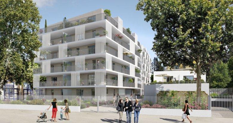 Achat / Vente immobilier neuf Marseille 10 proche du centre commercial Bleu Capelette (13010) - Réf. 1376