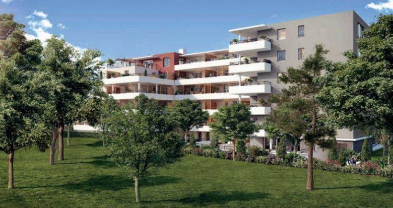 Achat / Vente immobilier neuf Marseille 10 proche parc boisé (13010) - Réf. 5047