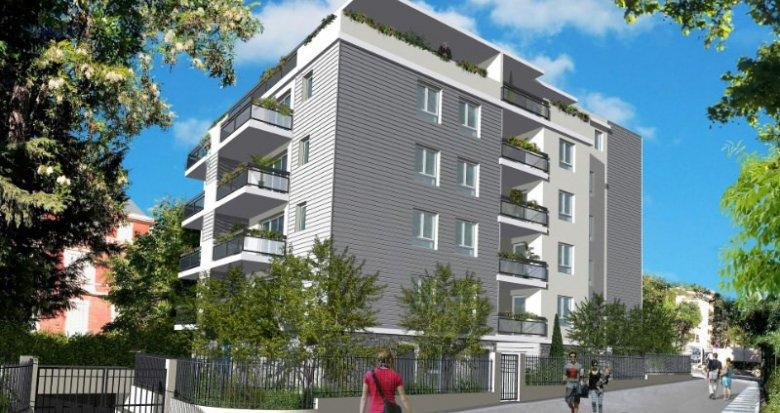 Achat / Vente immobilier neuf Marseille 10 proche parc de la mairie (13010) - Réf. 649