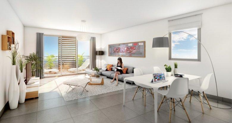 Achat / Vente immobilier neuf Marseille 10 quartier Saint Loup (13010) - Réf. 316