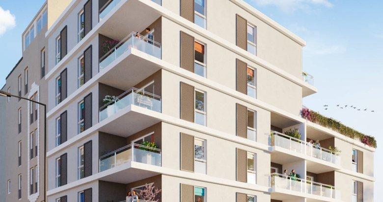 Achat / Vente immobilier neuf Marseille 10 résidence intimiste à la Capelette (13010) - Réf. 6240