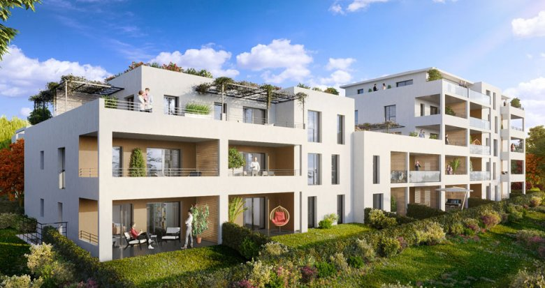Achat / Vente immobilier neuf Marseille 11e proche zone commerciale La Valentine (13011) - Réf. 3690