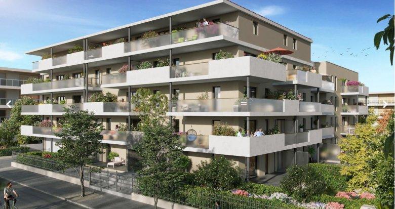 Achat / Vente immobilier neuf Marseille 12 au cœur du village de St Barnabé (13012) - Réf. 5004