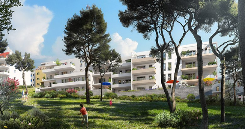 Achat / Vente immobilier neuf Marseille 12 parc de La Mirabelle (13012) - Réf. 1017