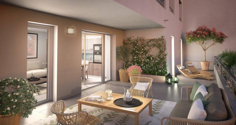 Achat / Vente immobilier neuf Marseille 12 petit programme au milieu de la verdure (13012) - Réf. 6236