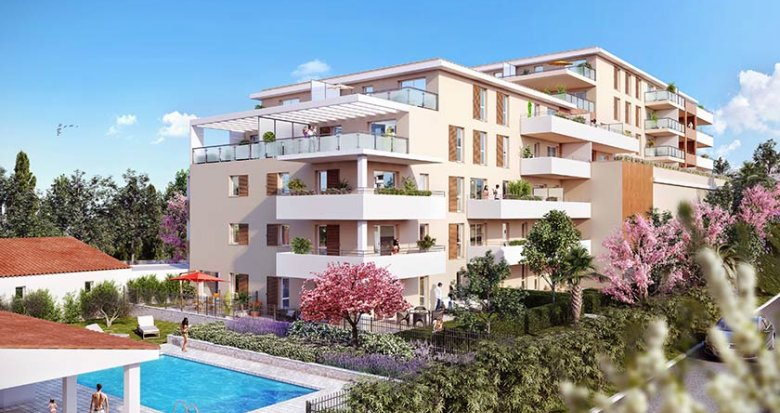 Achat / Vente immobilier neuf Marseille 12 proche Beaumont (13012) - Réf. 1716
