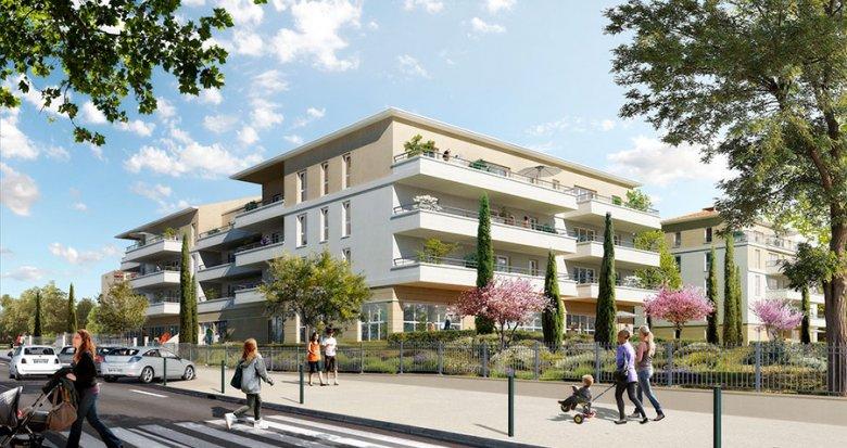 Achat / Vente immobilier neuf Marseille 12 proche du Métro 1 (13012) - Réf. 1149