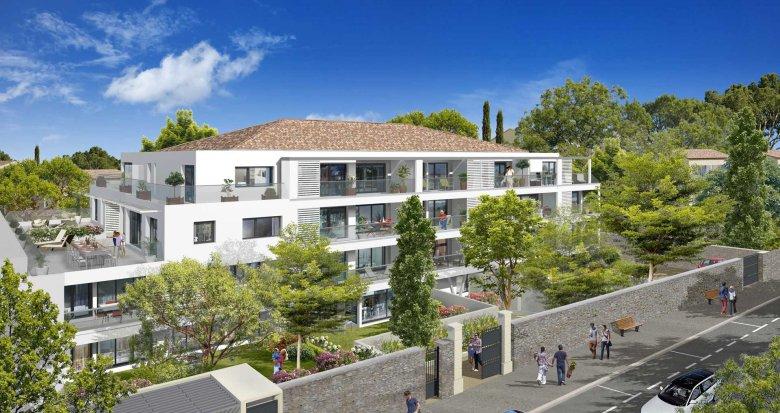 Achat / Vente immobilier neuf Marseille 12 proche paroisse Saint-Julien (13012) - Réf. 1191