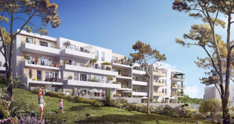 Achat / Vente immobilier neuf Marseille 12 proche vieux village de Saint-Julien (13012) - Réf. 2603