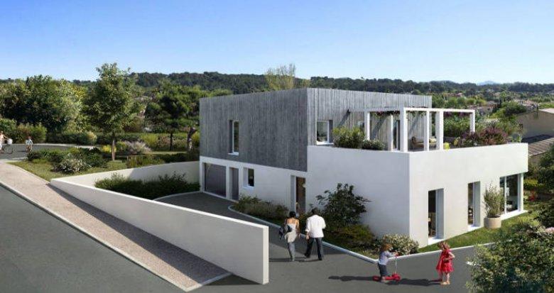 Achat / Vente immobilier neuf Marseille 12 secteur Les Caillols (13012) - Réf. 4582