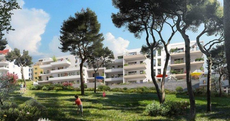 Achat / Vente immobilier neuf Marseille 12ème site boisé (13012) - Réf. 814