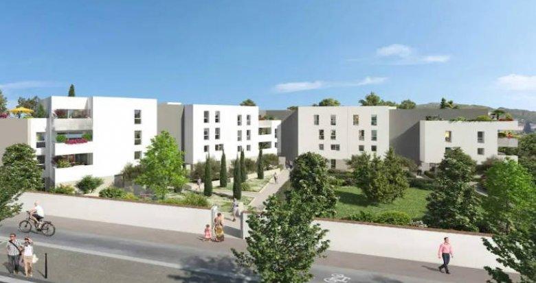 Achat / Vente immobilier neuf Marseille 13 à l'entrée de Chateau Gombert (13003) - Réf. 4355