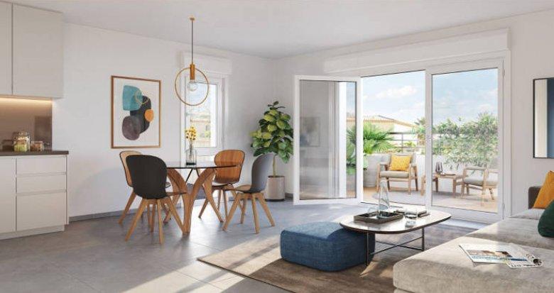 Achat / Vente immobilier neuf Marseille 13 petite copropriété en pleine nature (13013) - Réf. 4970