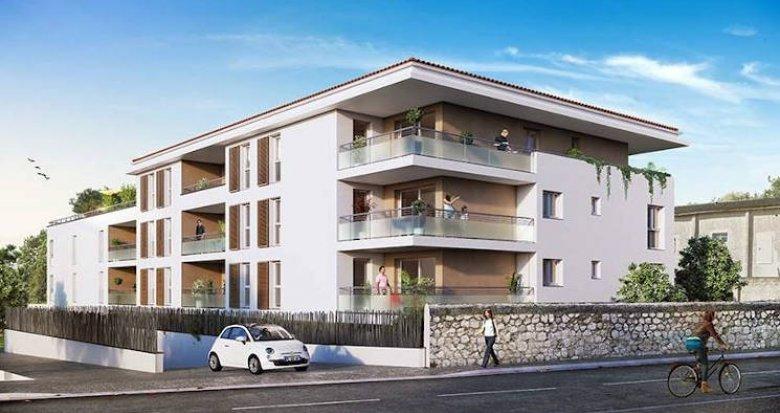 Achat / Vente immobilier neuf Marseille 13 secteur village Château Gombert (13013) - Réf. 4462