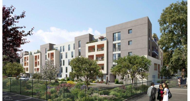 Achat / Vente immobilier neuf Marseille 13e quartier Saint Just (13013) - Réf. 1409