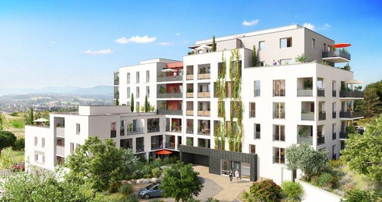 Achat / Vente immobilier neuf Marseille 14 dans l'écoquartier des Hauts de Saint-Marthe (13014) - Réf. 1321