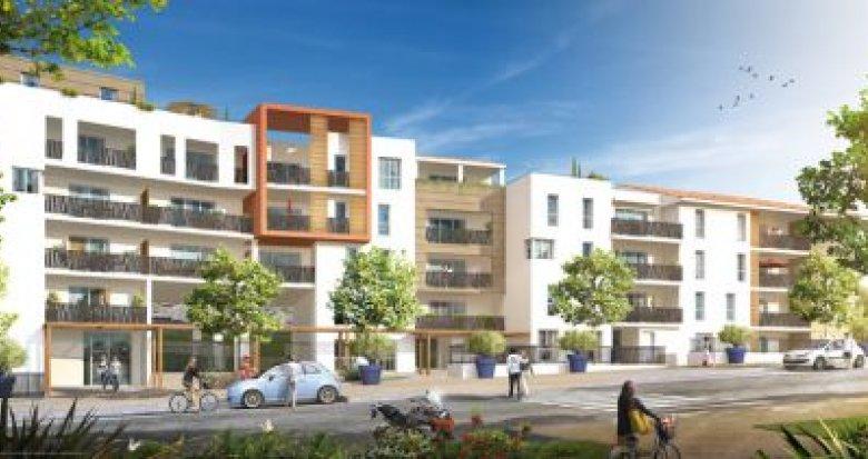 Achat / Vente immobilier neuf Marseille 14 les Hauts de Sainte Marthe (13014) - Réf. 1306