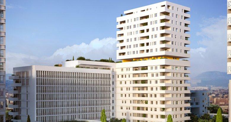 Achat / Vente immobilier neuf Marseille 15e proche Euroméditerranée (13015) - Réf. 1007