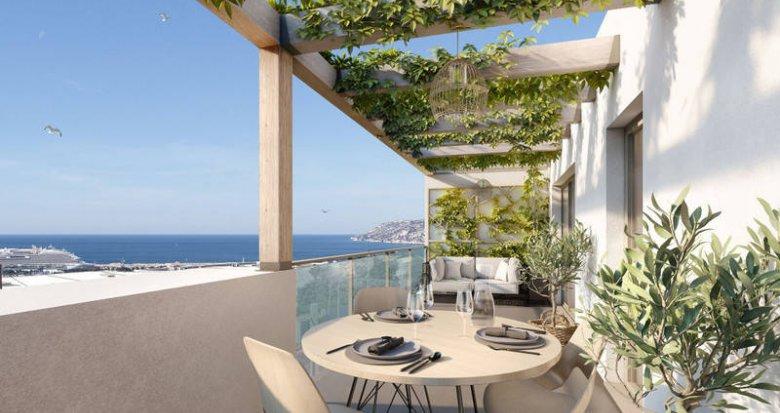 Achat / Vente immobilier neuf Marseille 16 sur les hauteurs de l'Estaque (13016) - Réf. 6264