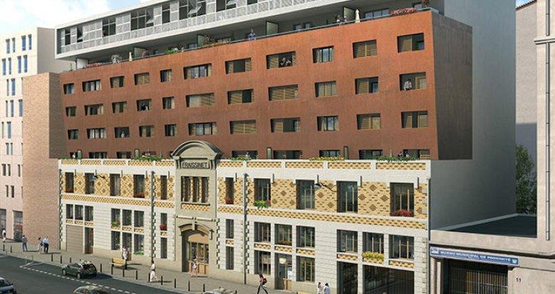 Achat / Vente immobilier neuf Marseille 2 Cathédrale de la Major (13002) - Réf. 975