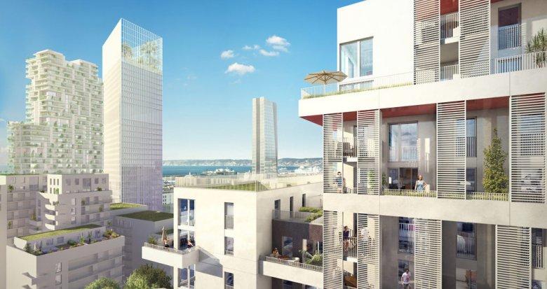 Achat / Vente immobilier neuf Marseille 2ème Euroméditerranée (13002) - Réf. 851