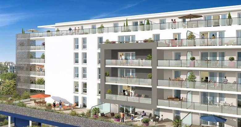 Achat / Vente immobilier neuf Marseille 4 proche parc du Palais Longchamp (13004) - Réf. 983