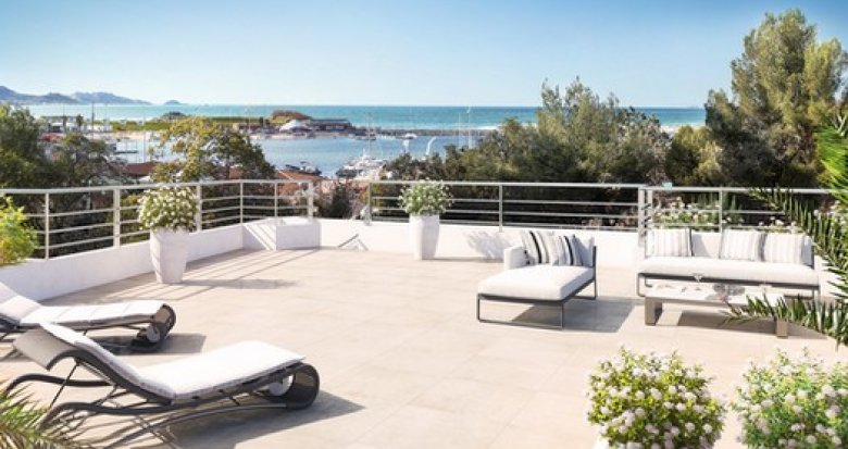 Achat / Vente immobilier neuf Marseille 7 avec vue sur mer (13007) - Réf. 2012