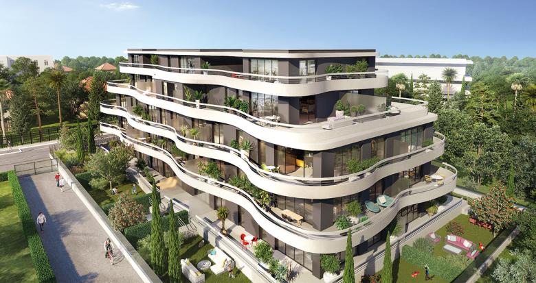 Achat / Vente immobilier neuf Marseille 8 à deux pas du parc Borély (13008) - Réf. 1551