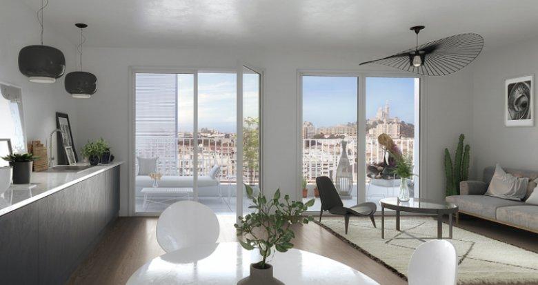 Achat / Vente immobilier neuf Marseille 8 proche avenue du Prado (13008) - Réf. 2401