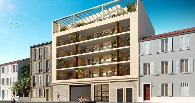 Achat / Vente immobilier neuf Marseille 8 proche avenue du Prado (13008) - Réf. 1585