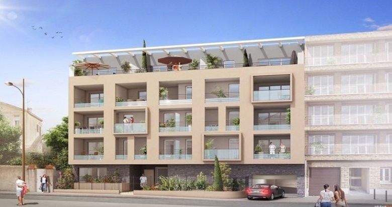 Achat / Vente immobilier neuf Marseille 8 secteur prisé résidentiel (13008) - Réf. 817