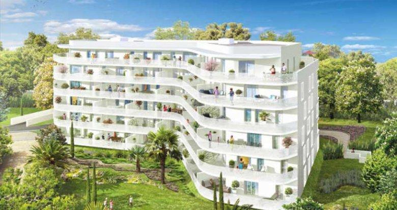 Achat / Vente immobilier neuf Marseille 8e proche Bonneveine (13008) - Réf. 356