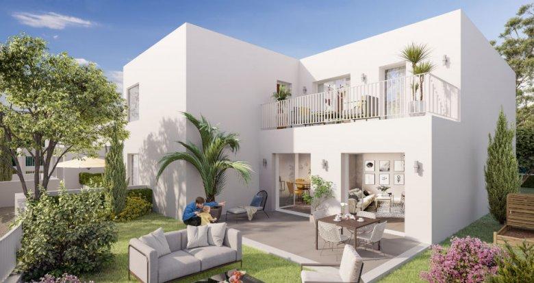 Achat / Vente immobilier neuf Marseille 9 à deux pas du Parc de la Maison Blanche (13009) - Réf. 6205