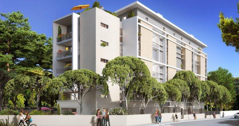Achat / Vente immobilier neuf Marseille 9 quartier du Cabot (13009) - Réf. 813