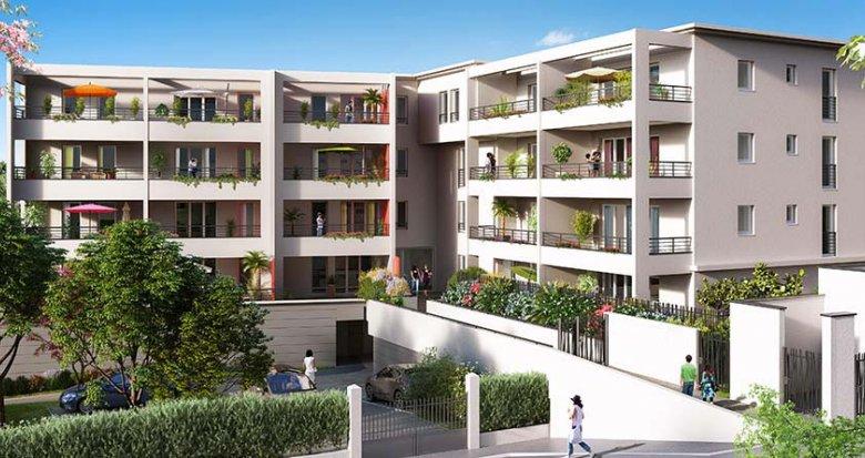 Achat / Vente immobilier neuf Marseille 9 quartier Le Cabot (13009) - Réf. 1264