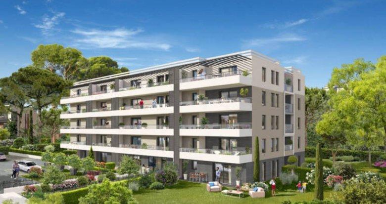Achat / Vente immobilier neuf Marseille 9 secteur Mazargues calme -TVA 5,5% (13009) - Réf. 4747