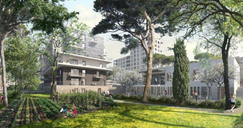 Achat / Vente immobilier neuf Marseille proche parc Longchamps (13001) - Réf. 2261