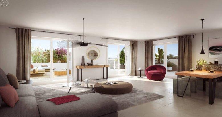 Achat / Vente immobilier neuf Marseille quartier calme de Mazargues (13009) - Réf. 4989