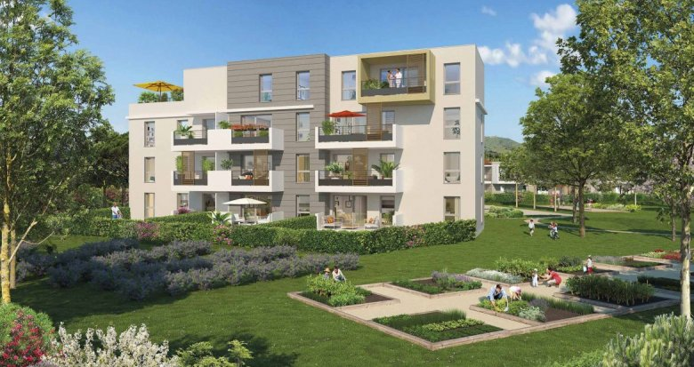 Achat / Vente immobilier neuf Marseille quartier de Château-Gombert (13013) - Réf. 799