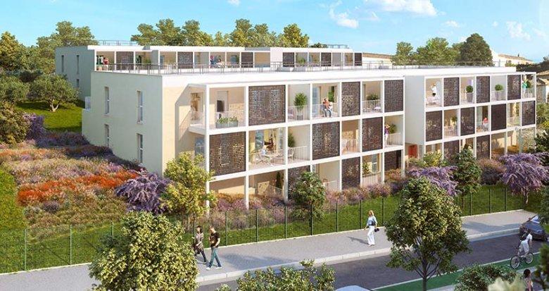 Achat / Vente immobilier neuf Marseille quartier de la Croix-Rouge (13013) - Réf. 1865